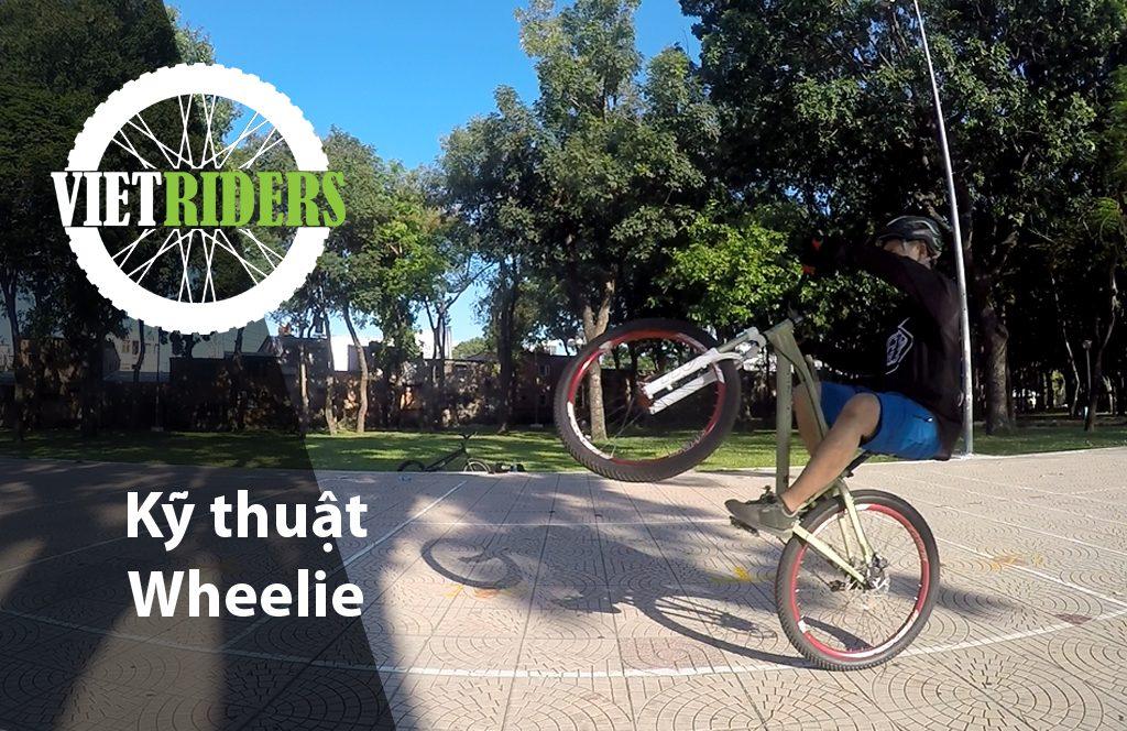 Kỹ thuật bốc đầu xe đạp (Wheelie)