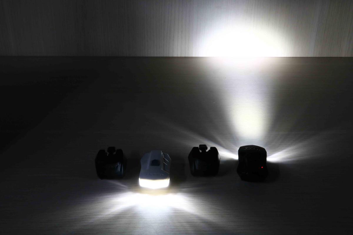 Đèn xe đạp Numen + HL2 với cường độ sáng mạnh