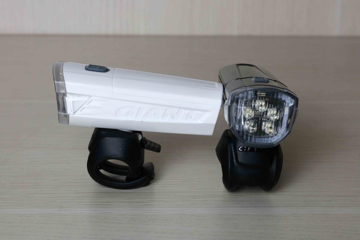 Đèn xe đạp Numen HL2 với hai màu đen và trắng cho bạn lựa chọn