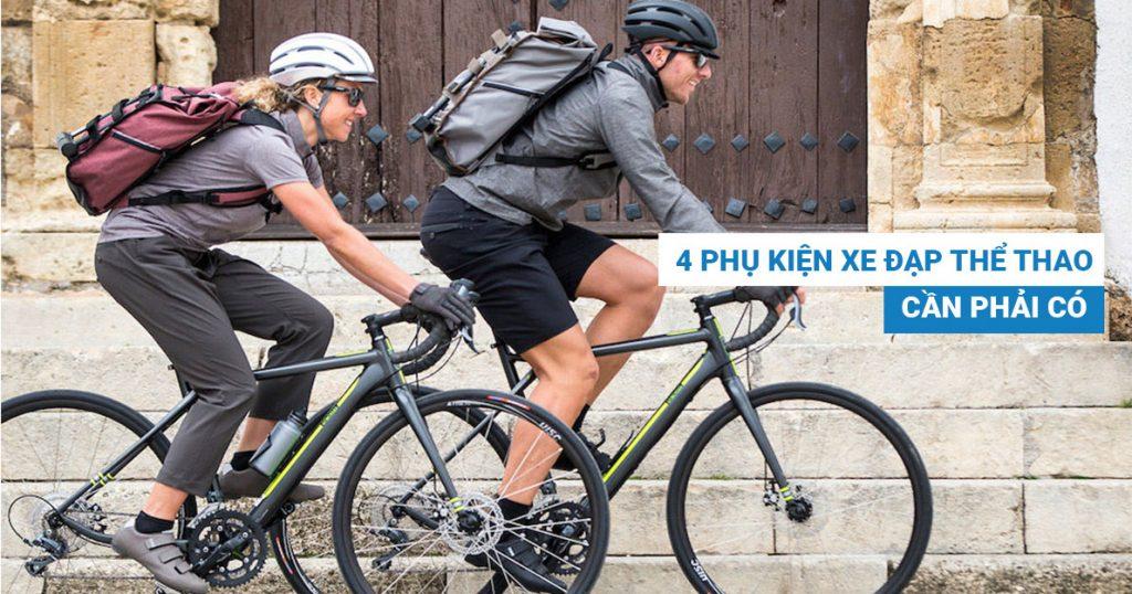 4 phụ kiện xe đạp thể thao cần phải cócho dân đạp xe