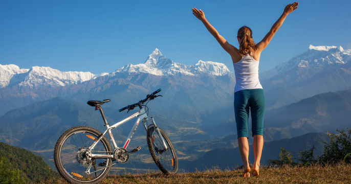 Tác dụng của việc đạp xe đối với sức khỏe