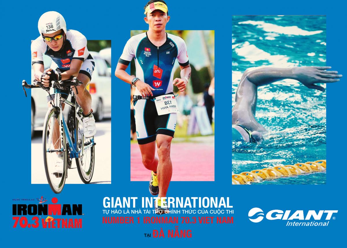 Chương trình thuê xe đạp thi đấu Ironman 70.3 Đà Nẵng bởi Giant International