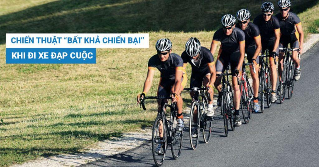 """Chiến thuật """"bất khả chiến bại"""" khi sử dụng xe đạp cuộc"""