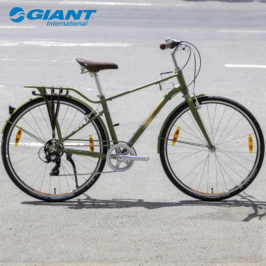 Xe đạp đường phố Momentum Ineed Street với màu xanh lạ mắt dành cho nam