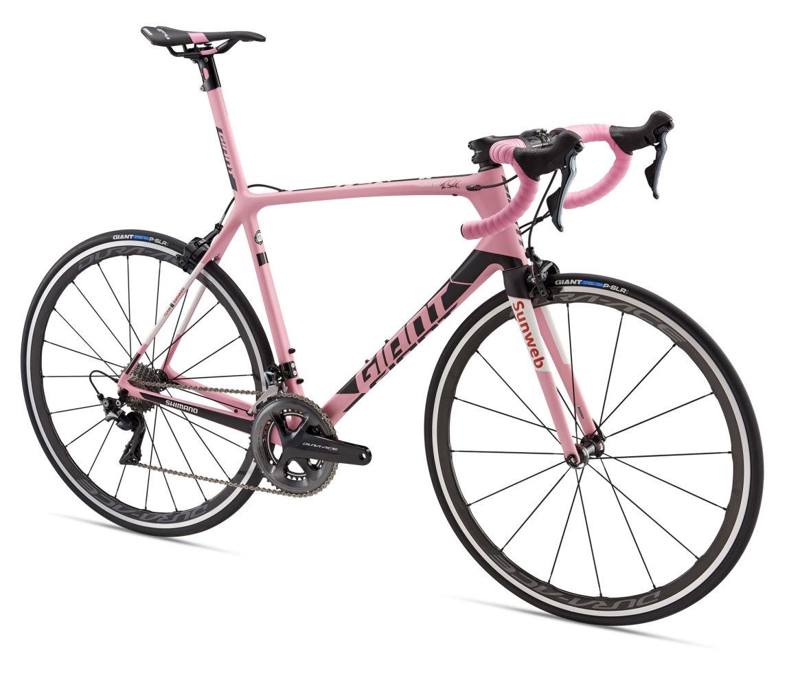 Xe đạp road Giant TCR Advanced SL Maglia Rosa giành chiến thắng tại Giro
