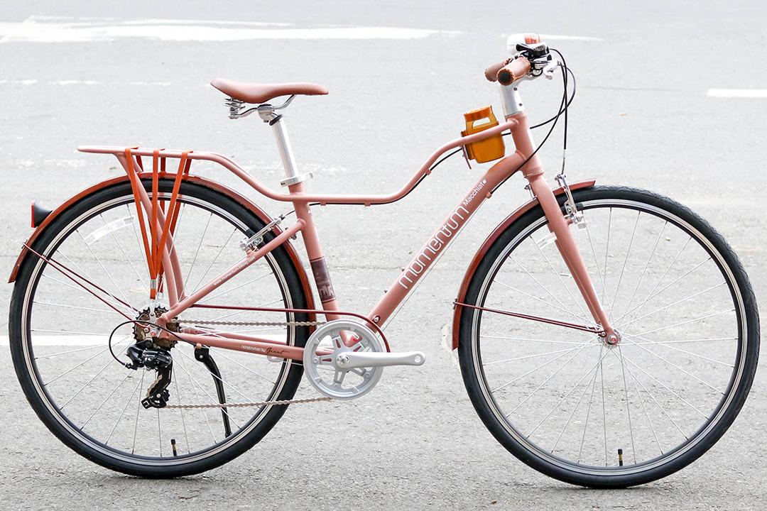 Xe đạp dành cho học sinh Momentum Macchiato được mang phong cách cổ điển thiết kế gần giống Momentum Ineed Street (Mid -step)
