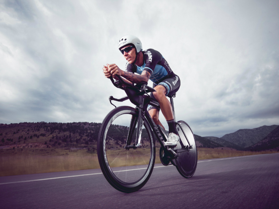 Tim Van Berkel đạp xe Giant Advanced Trinity Pro