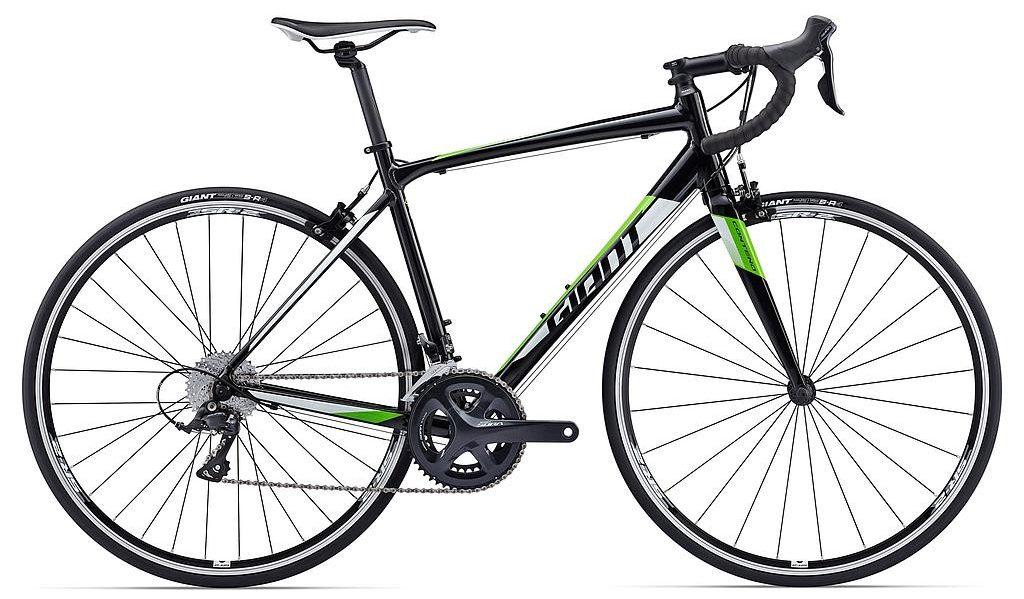 Xe đạp Giant Contend 1 sở hữu màu đen xanh cá tính
