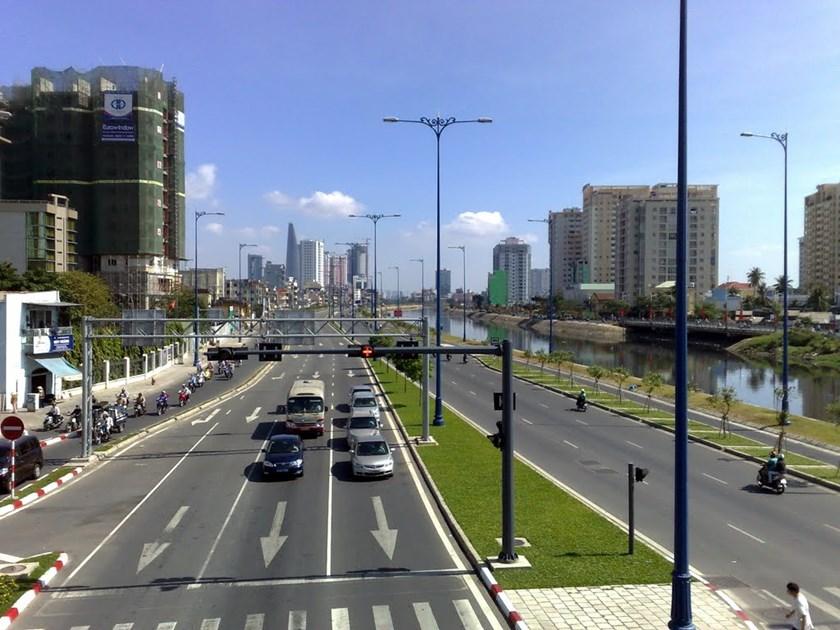 Đại lộ Võ Văn Kiệt với không gian thoát đảng