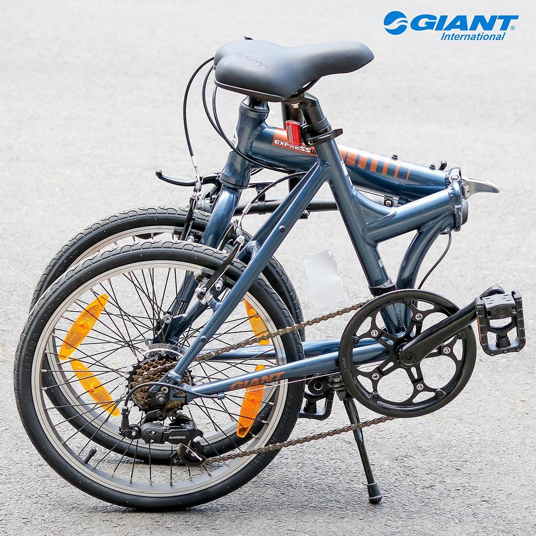 Xe đạp gấp được thiết kế nhỏ gọn, gấp dễ dàng