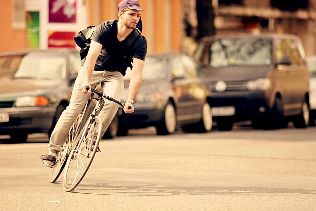 Xe đạp không tao ra khói bụi khi di chuyển
