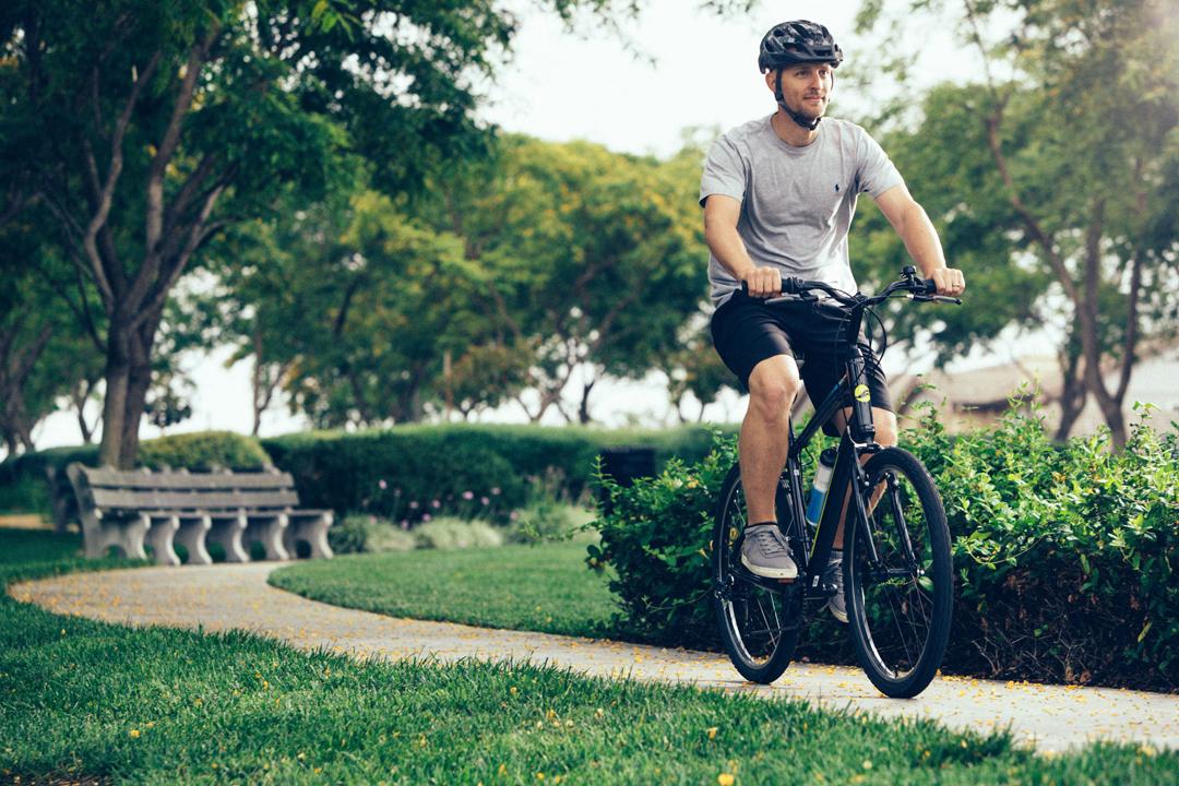 Buổi sáng là thời điểm tuyệt vời để đạp xe