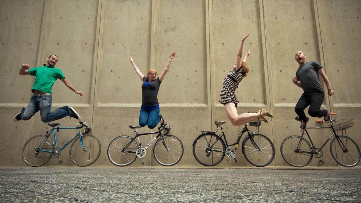 Chạy xe giúp mọi người cảm thấy vui vẻ, hạnh phúc hơn trong cuộc sống
