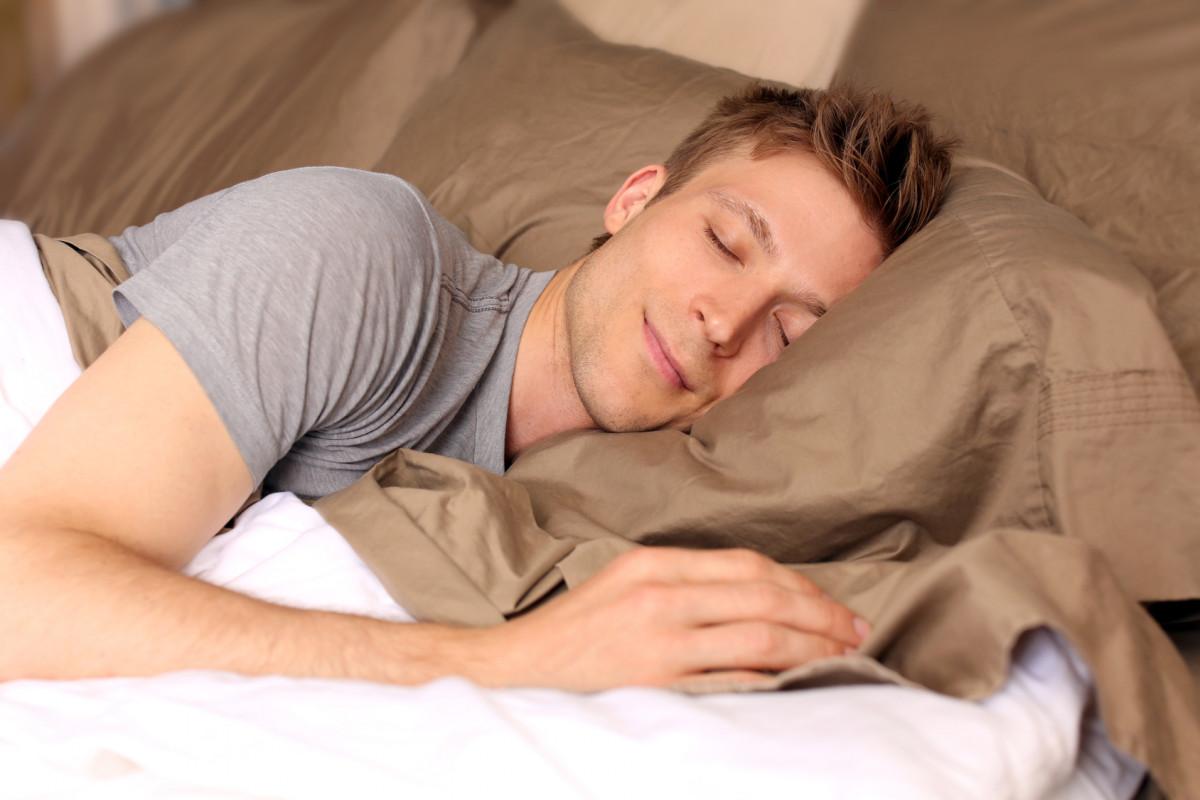 Anh chàng ngủ ngon hơn sau khi lái xe đạp thể thao