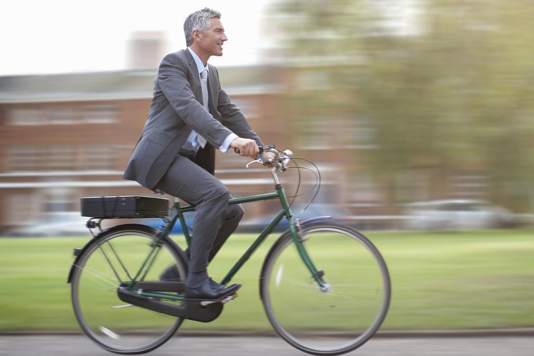 Doanh nhân chơi xe đạp - sở thích tao nhã