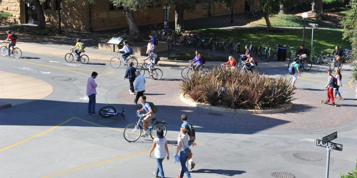 Rất nhiều bạn học sinh tự đạp xe đến trường mỗi ngày