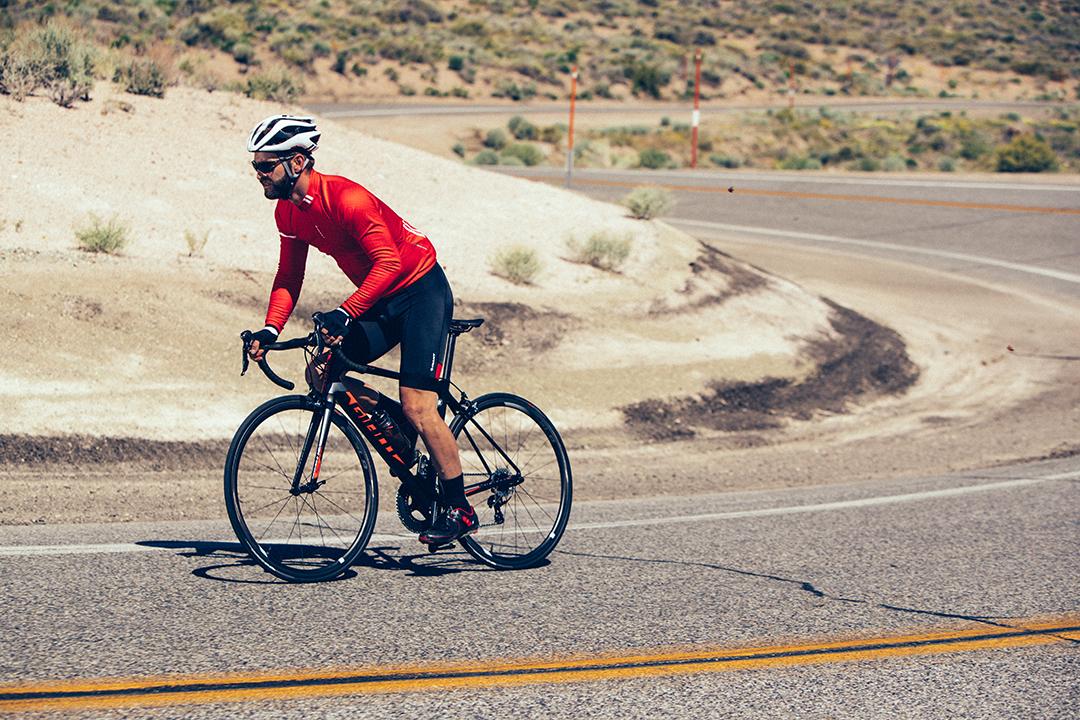 Bạn nghiêm túc thực hiện với những mục tiêu đã đề ra khi đạp xe một mình
