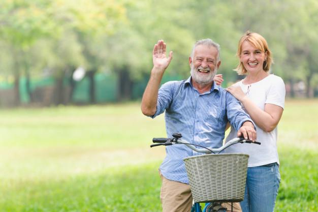 Đạp xe giúp người trung niên cảm thấy yêu đời hơn