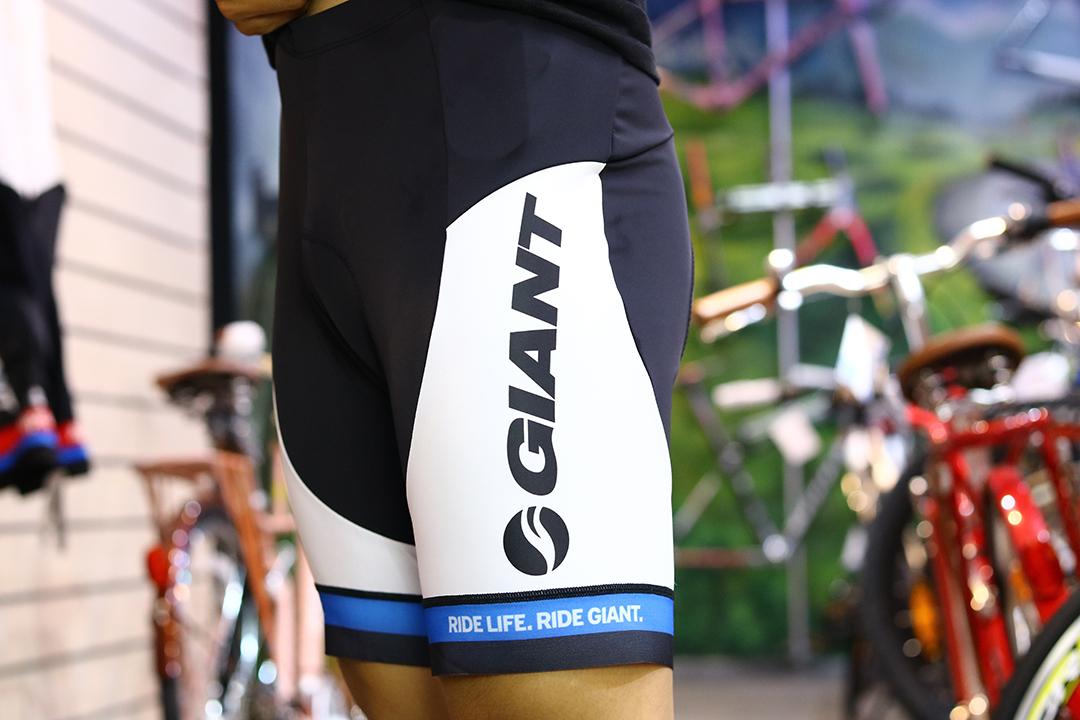 Quần đạp xe của thương hiệu Giant loại không có yếm