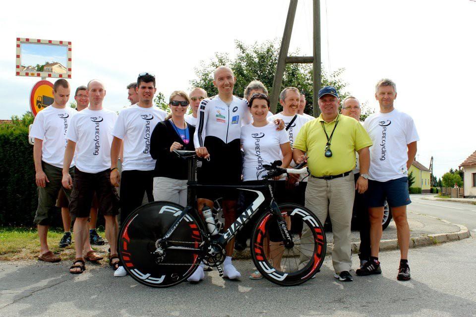 Marko Baloh lập kỷ lục nhờ sự trợ giúp xe đạp Giant Trinity Advanced
