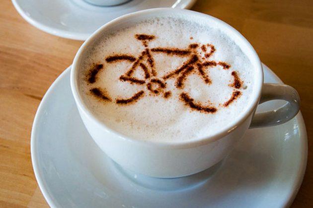 Cà phê giúp người đạp xe tỉnh táo hơn tránh mất sức