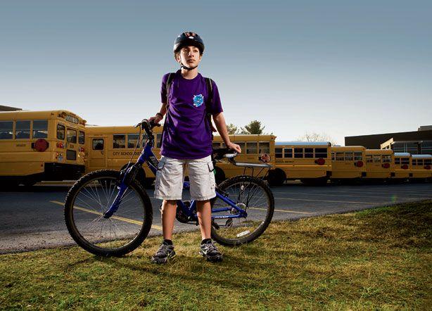 Đa số các teen hiện nay lựa chọn xe đạp đến trường