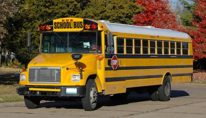 Phương tiện đến trường chủ yếu của các hoạt sinh Mỹ
