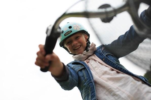 Hiện nay, hầu hết trẻ em ở Đan Mạch điều đạp xe đến trường mỗi ngày