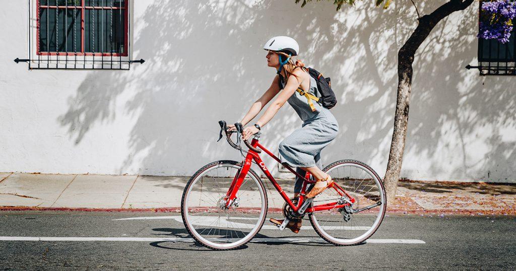 Vì sao xe đạp lại được lòng chị em phụ nữ?