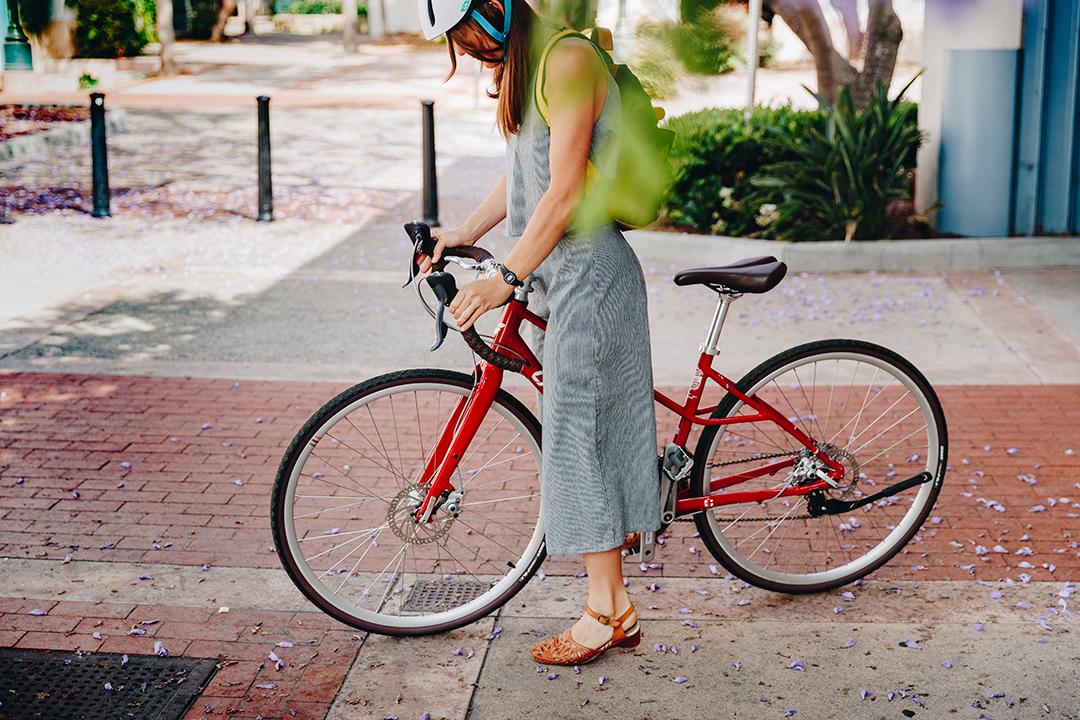 Đạp xe giúp chị em luôn giữ được nét trẻ trung