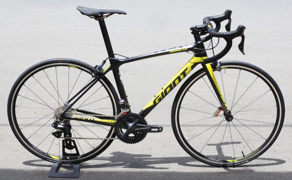 Ngắm nhìn xe đạp đua TCR Advanced 0 2018