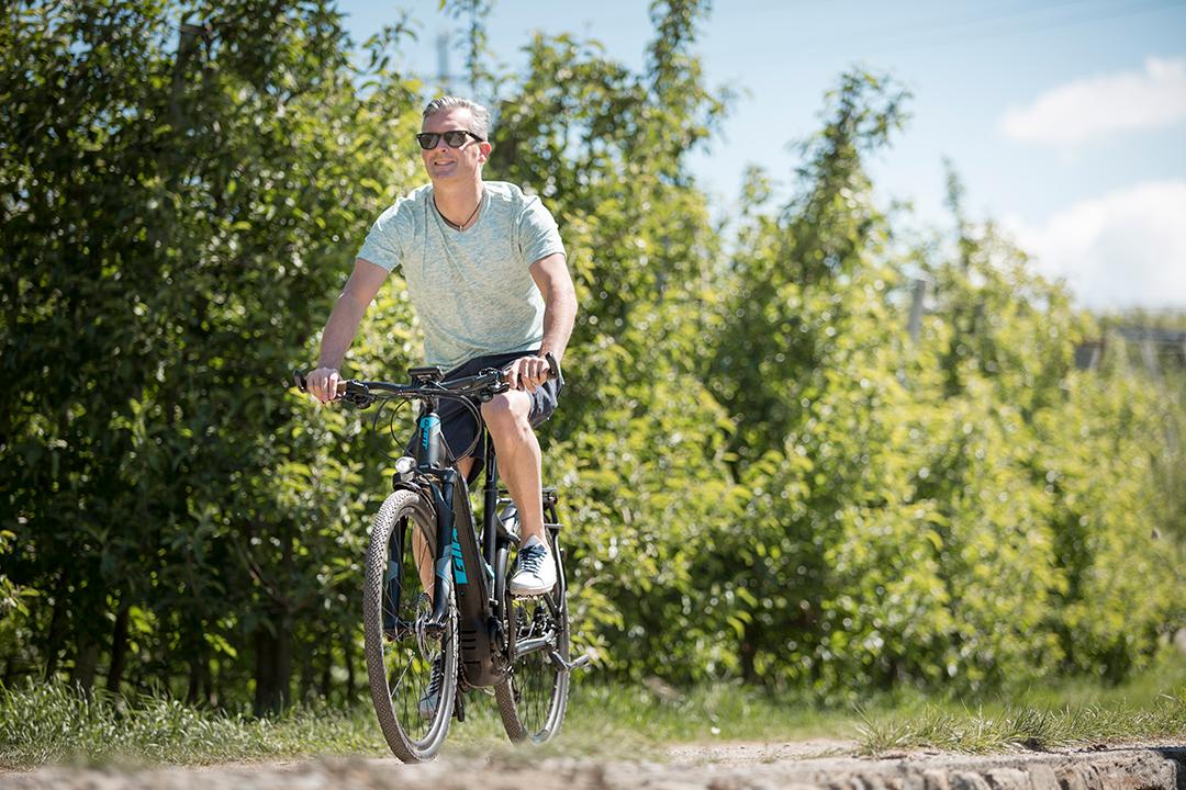 Đạp xe giúp người trung niên giải toả căng thẳng