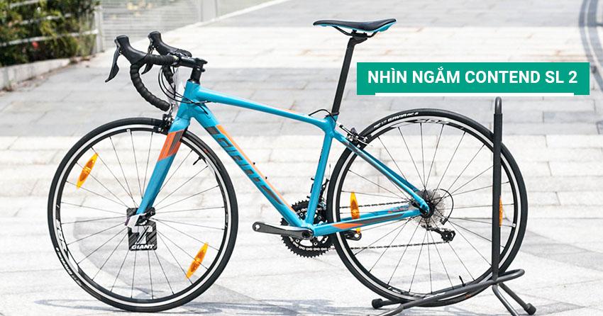 Nhìn ngắm xe đạp đua Contend SL 2 2018