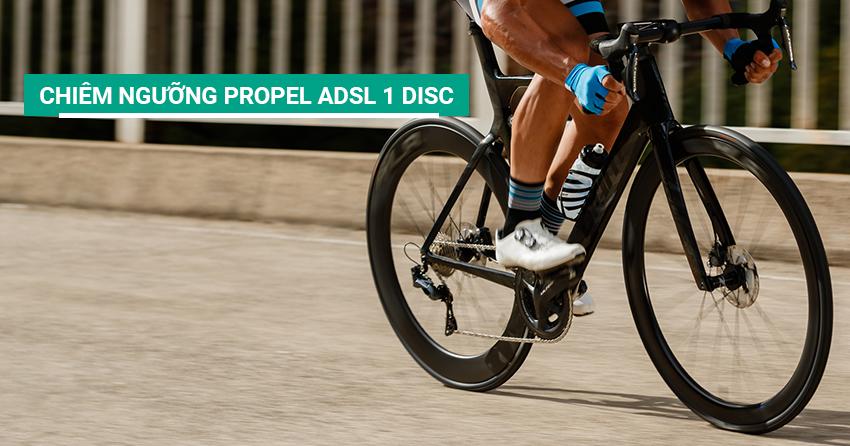 Tận mắt chiêm ngưỡng xe đạp đua Propel ADSL 1 Disc 2019