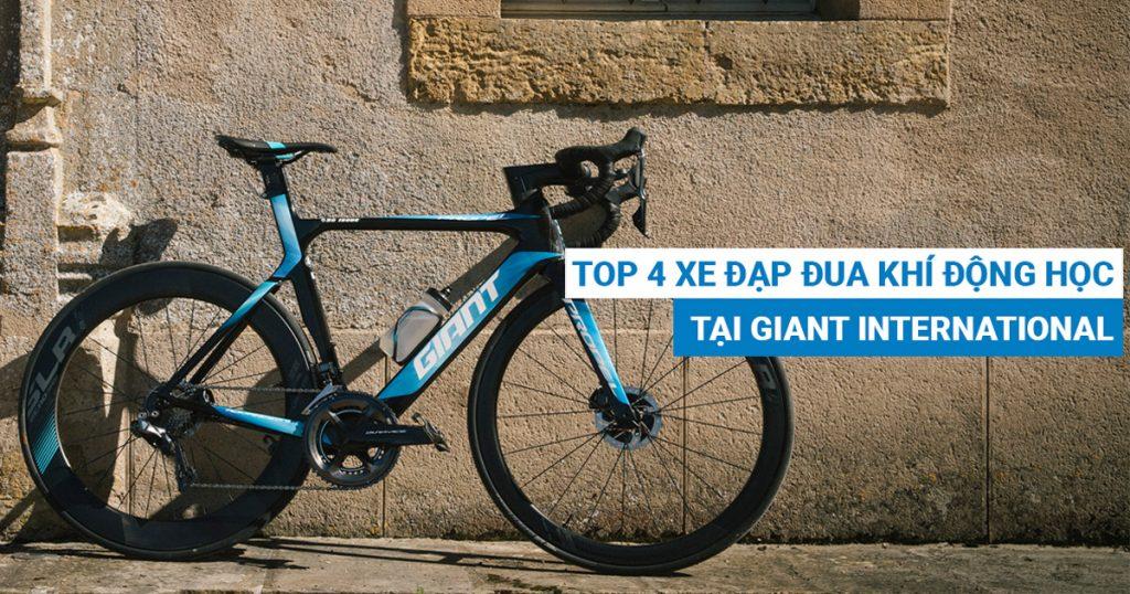 Top 4 mẫu xe đạp đua khí động học có mặt tại Giant International
