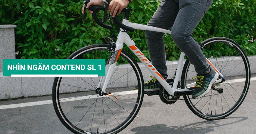 Nhìn ngắm xe đạp đua Contend SL 1