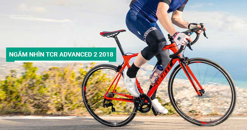 Ngắm nhìn xe đạp đua TCR Advanced 2 2018
