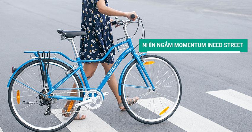 Nhìn ngắm xe đạp thời trang nữ Momentum iNeed Street (mid-step)