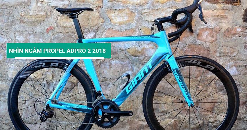 Nhìn ngắm xe đạp đua Propel Advanced Pro 2 2018