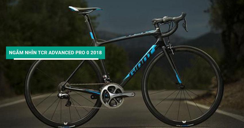 Ngắm nhìn xe đạp đua TCR Advanced Pro 0 2018