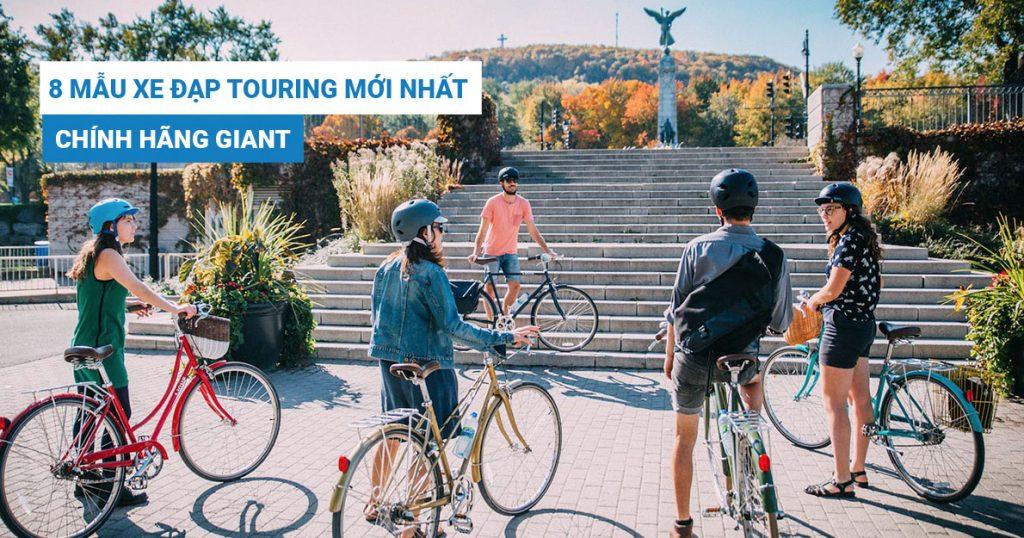 Tổng hợp xe đạp touring chính hãng mới nhất hiện nay