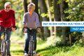 Đạp xe làm ảnh hưởng đến quá trình lão hoá, thật hay đùa?