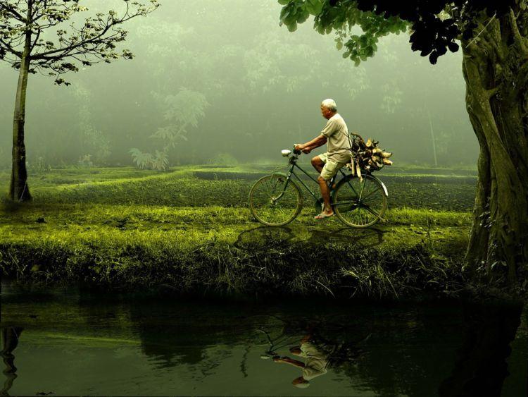 Đạp xe giúp giảm bớt các triệu chứng căng thẳng, trầm cảm thường gặp ở người già
