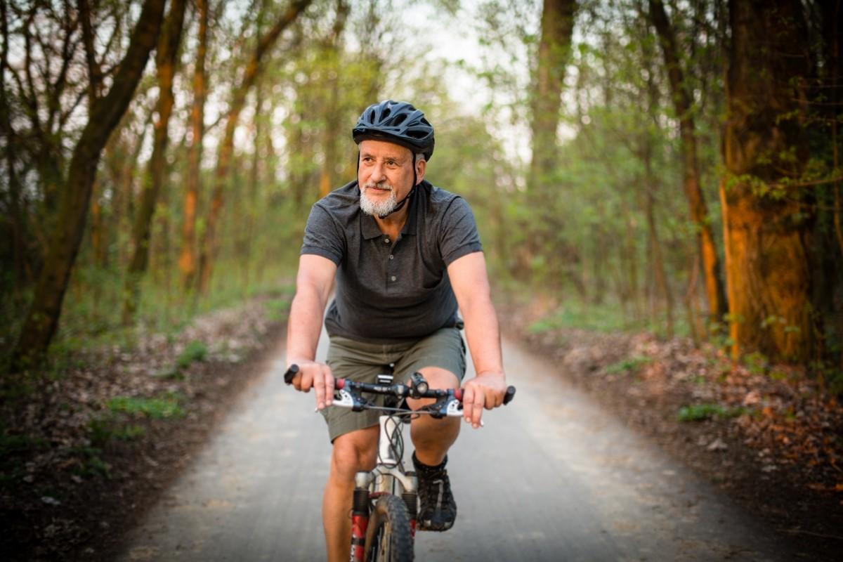 Đạp xe đẩy lùi quá trình lão hóa