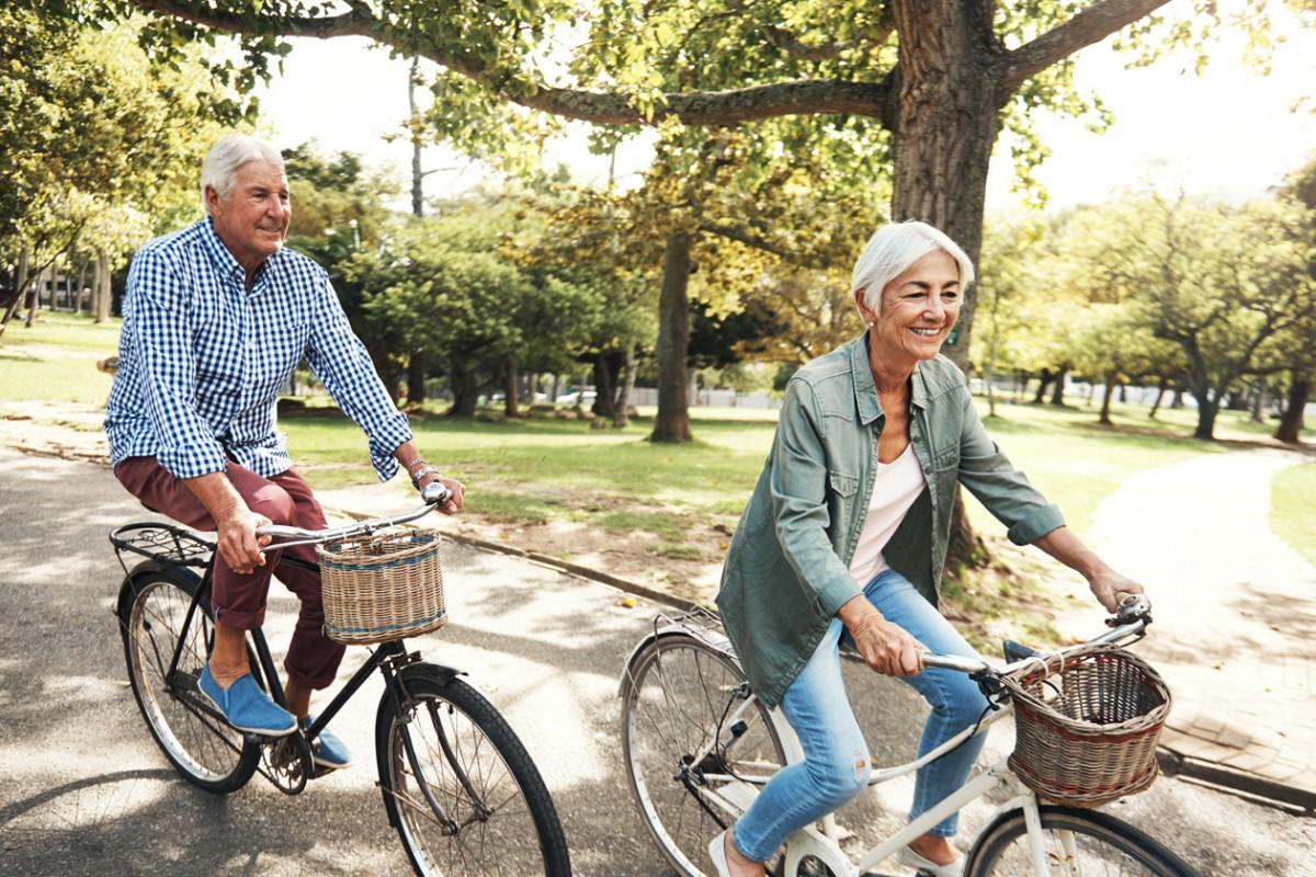 Đạp xe duy trì trọng lượng cơ thể ổn định