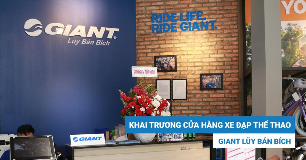"""Khai trương cửa hàng xe đạp thể thao Giant Lũy Bán Bích – """"Người em thứ 3"""" của Giant International"""