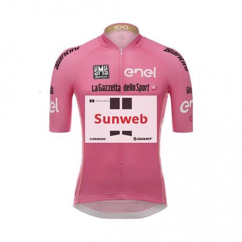 Áo Thun Giant Team Sunweb Santini Leaders Ss Jersey