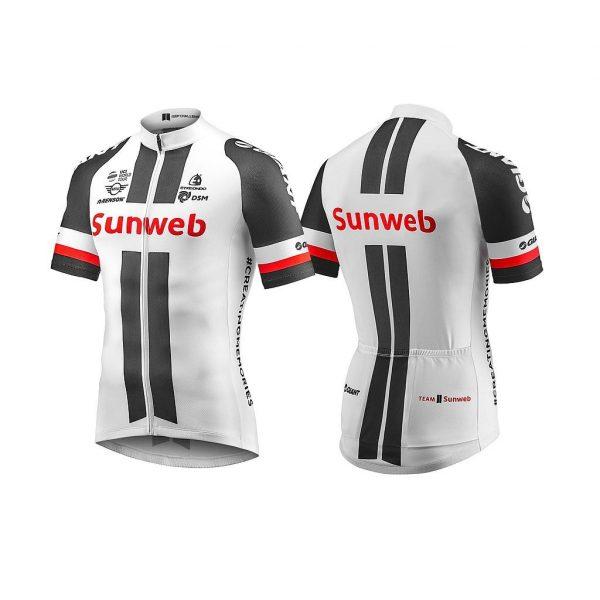 Áo Tay Ngắn Giant Team Sunweb Replica Ss Jersey