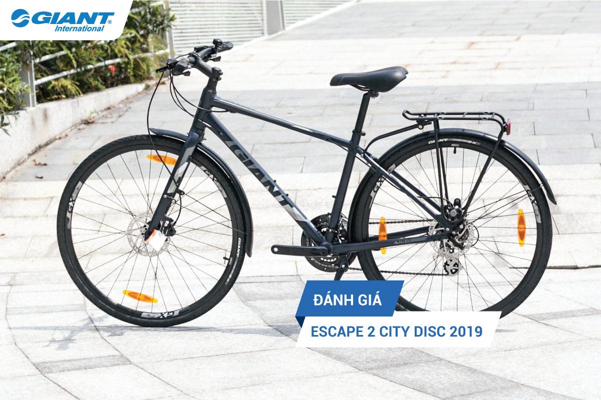 Đánh giá xe đạp thể thao Escape 2 City Disc 2019