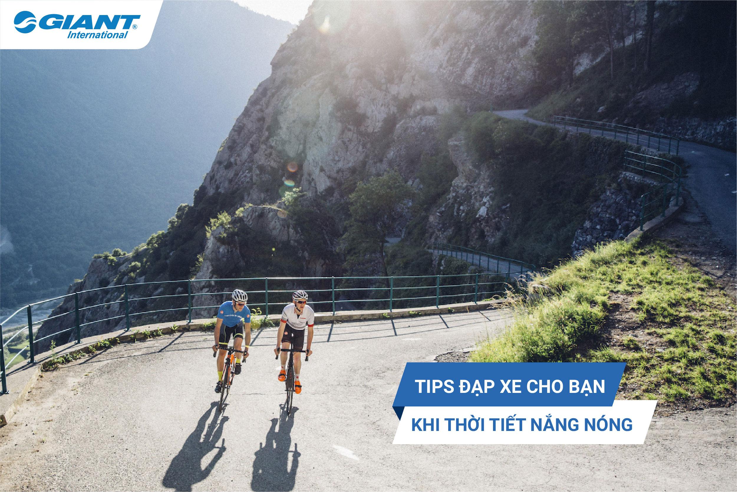 Tips cho bạn khi đạp xe vào thời tiết nóng